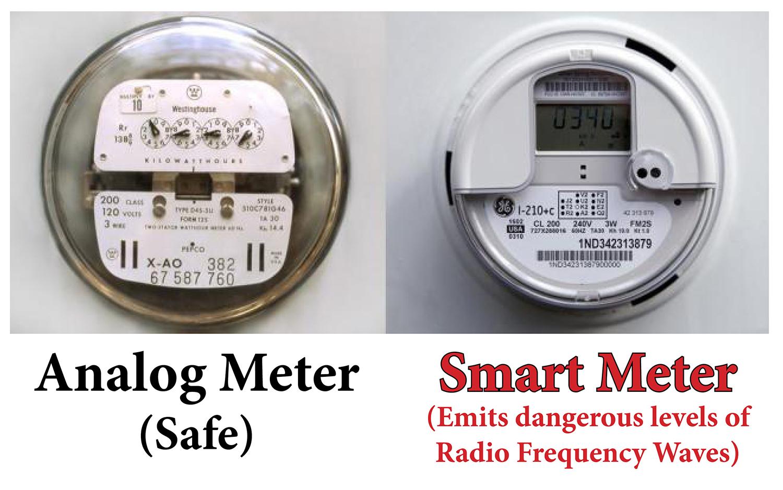 Utility Meter Analog : Smart meter info waves of change